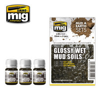 Glossy Wet Mud Soils (Mud & Earth Sets)