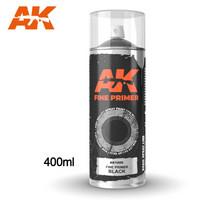 Fine Primer Spray Black 400ml (mukana kaksi suutinta)