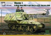 Marder I 7.5cm Pak40/1 auf GW.Lr.s.(f) Lorraine Schlepper 1/35