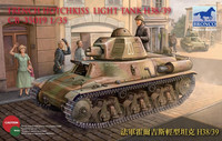 H38/39 Hotchkiss French Light Tank 1/35