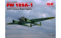 Focke Wulf Fw189A-1 Night Fighter 1/72