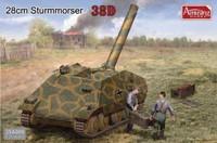 28cm Sturmmörser auf Panzer 38(t) 1/35