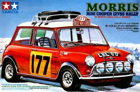 Mini Cooper Car >> Mini Cooper 1275s Rally Car 1 24