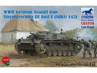 German StuG III Ausf.E Assault Gun 1/35