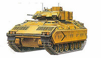 M2 Bradley with Interior parts