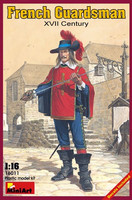 French Guardsman XVII Century 1/16