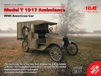 Model T 1917 Ambulance, WW I American Car 1/35