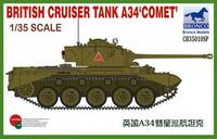 "British Cruiser Tank A34 ""Comet"" 1/35"