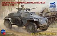 Leichte Panzerspähwagen (MG) SdKfz 221 1/35