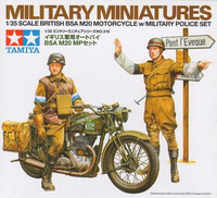 British BSA M20 Motorcycle with Military Police set 1/35