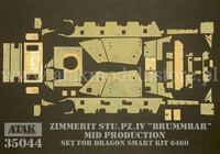Brummbär Mid Prod. (Dragon) 1/35
