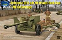 Ordnance QF 6 pdr Mk.IV Anti-Tank Gun & Mk.1A Carriage 1/35