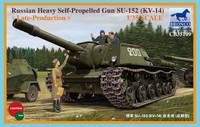SU-152 Soviet Self propelled Gun 1/35