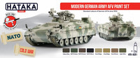 Modern German Army AFV Paint Set (Cold War)