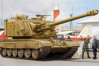 GCT 155mm Auf1 SPH on T-72 1/35