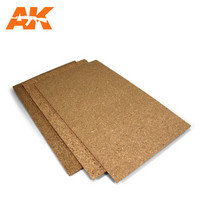 Cork Sheet 200 X 300 X 3mm Fine Grained