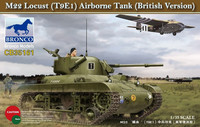 M22 Locust (T9E1) Airborne Tank British Version) 1/35