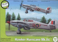 "Hawker Hurricane Mk.IIc ""Post War"" 1/72"