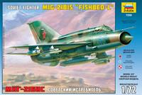 MiG-21 bis (suomi tunnukset) 1/72