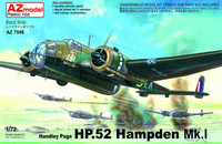 Handley-Pge Hampden Mk.I (New Clear Parts) 1/72