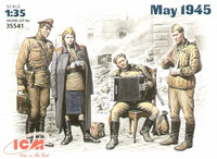 MAY 1945 (SET OF 4 RUSSIAN FIGURES) 1/35