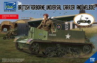 British Airborne Universal Carrier & Wellbike 1/35