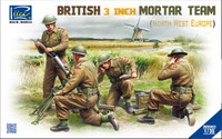 British 3 inch Mortar Team (north West Europe) 1/35