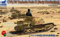 CV3/33 Tankette Serie II (Early Production) 1/35