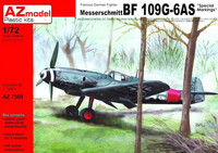 Messerschmitt Bf 109G-6AS 'Special Marking' 1/72
