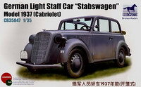 1937 Opel Light Staff 'Stabswagen' Cabriolet 1/35