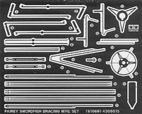 Fairey Swordfish etched strut bracing set 1/48