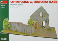 Farmhouse with Diorama Base 1/35