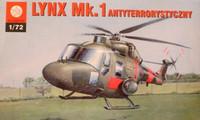 Westland Lynx Mk.1 Antiterrorist Helicopter 1/72