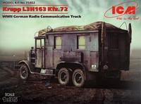 Krupp L3H1163 Kfz.72 Communications Truck 1/35