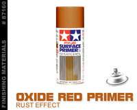 Fine Surface Primer Oxide Red (Large 180ml)