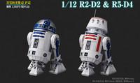 R2-D2 & R5-D4 Droids