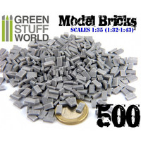 Model Bricks Grey (500 pcs)