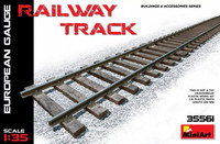 Railway Track Section (European Gauge) 1/35