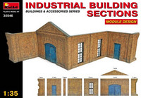 Industrial building section 1/35