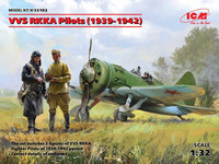 VVS RKKA Pilots (1939-1942) Three Figures 1/32