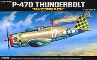 "Republic P-47D Thunderbolt ""Razorback"" 1/72"