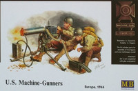 U.S. Machine-Gunners, Europe 1944 1/35