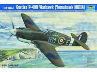 CURTIS P-40B WARHAWK 1/32
