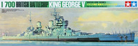 King George V British Battleship 1/700