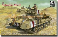British Infantry Tank Mk.III Valentine Mk.II 1/35