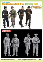 Ghost Division Tank Crew Blitzkrieg 1940 1/35