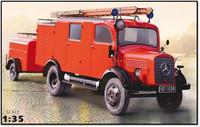 Mercedes L1500S LF8 WWII German Light Fire Truck 1/35