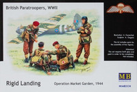 British paratroopers WWII, Rigid Landing, Operation Market Garden 1944 1/35