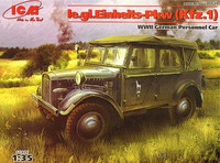 LE.GL.EINHEITS-PKW (KFZ.1), WWII German PERSONNEL CAR 1/35