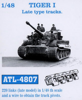 Tiger I Late Type Tracks 1/48